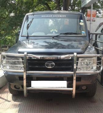 TATA SUMO GOLD EX CR4 BS 4:MODEL 03/2012, KM 126463, COLOUR GREY , FUEL DIESEL, PRICE 400000 NEG.USED VEHICLE FOR SALE COMPLEAT SHOWROOM TRACK. - by Nani Used Cars, Hyderabad