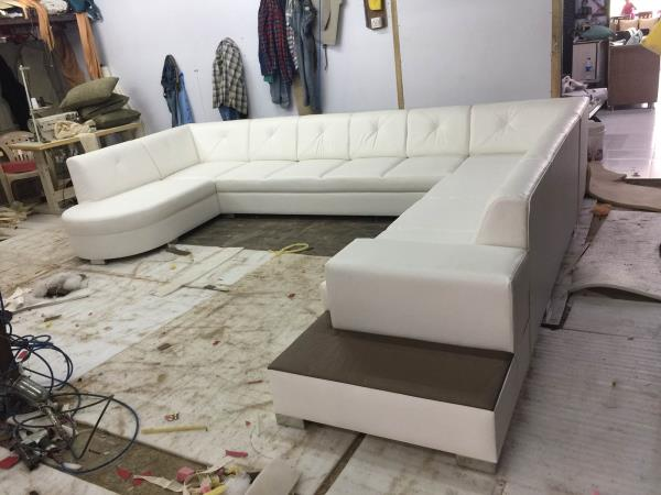 Sofa set manufacturers in Ahmedabad Lots of colours and design choices available.  Also customised as your requirements. Make any design very affordable rate with best quality materials. Call ;09725633161 - by Akshar Furniture, Ahmedabad