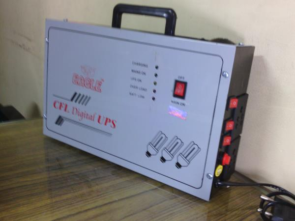 Rechargeable Mini UPS - by EAGLE ELECTRONIC S, Bangalore