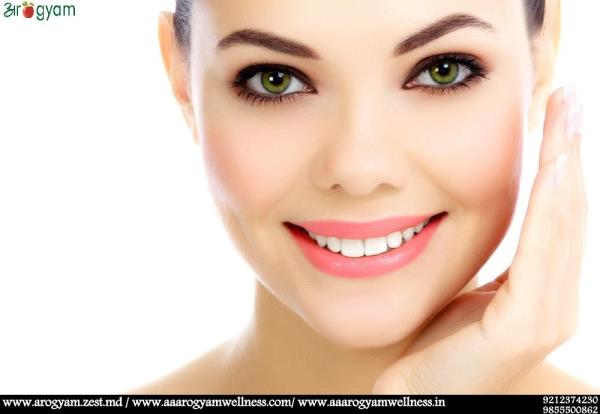 A HEALTHY DIET AND LIFESTYLE CAN MAKE YOUR SKIN GLOWING  If you desire clear & smooth face skin then evaluating your diet should be the first priority. Eat foods that contain high quantities of vitamins D, C, B1, B6, E, A and ALA (alpha Lio - by Arogyam Health and Wellness Clinic, Delhi