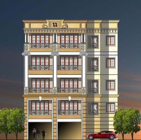 Andree Road (Shanti Nagar) Beautiful 3 bedroom flat for sale. Beautiful 3 bedroom flat for sale in an upmarket project. Area: 1602 sft., Car Park: 1 No. @ Rs.4, 00, 000/- each, Price : Rs.9, 500/- per sft. Possession: June 2017. For further - by Townscape, Bangalore