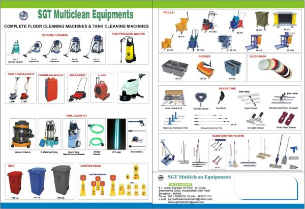 We are one of the leading manufacturers, importers, exporters and traders of diverse kinds of Cleaning Equipment and Accessories of complete car wash system, water tank cleaning equipments, House keeping machines. Our products are known for their compact designs, efficiency, fine finish and user friendliness.