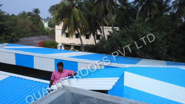Roofing Contractors Chennai               We are the Best Roofing Contractors Chennai.  We are experienced in Installation all types of roofng works . Our Technical team construct the best roofing design as well as International standards, our motto to satisfy the customers fulfillment.   we are also offering Best Roofing requirements for many industries like chemical industry, light industry, food industry, medicine and textiles industry etc.   We understand that drilling screws are much important hence we are buying superior quality in various shapes and sizes.We have years of experience which can be beneficial to customers as we would supply all pre-engineered systems at reasonable price. Our team always giving dedicated services in roofing and superior quality are major asset to meet the requirements of customers needs.