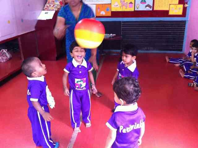 Home away from home for your child - Periwinkle Preschool @ Banashankari and Srinagar The excitement on face of the child during the acivities at school explains it:-)